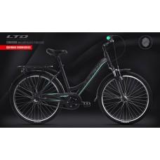 Велосипед LTD Cruiser 640 Lady Black-Turquoise (2020)