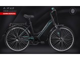 Велосипед LTD Cruiser 640 Black-Mint (2021)