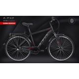 Велосипед LTD Viator 840 Black-Red (2021)