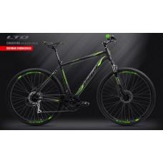 Велосипед LTD Crossfire 850 Black-Green (2019)