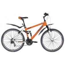 """велосипед FORWARD TERRA 917 нескл. (26"""" 21 ск. рост 16"""") оранжевый\белый"""